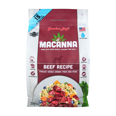 GRANDMA LUCY'S® Macanna™ Beef Recipe for Dogs