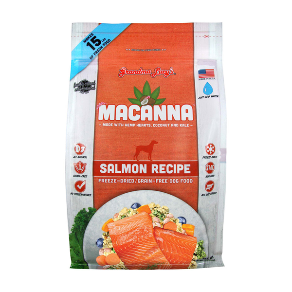 GRANDMA LUCY'S® Macanna™ Salmon Recipe for Dogs