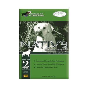 NATIVE® Performance Energy Level 2 - Chicken Meal & Rice Formula for Dogs