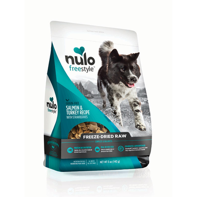 NULO™ Freestyle™ Grain-Free Freeze-Dried Raw Salmon & Turkey Recipe with Strawberries for Dogs