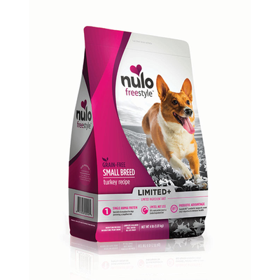 NULO™ Freestyle™ Grain-Free Limited+ Small Breed Turkey Recipe for Dogs