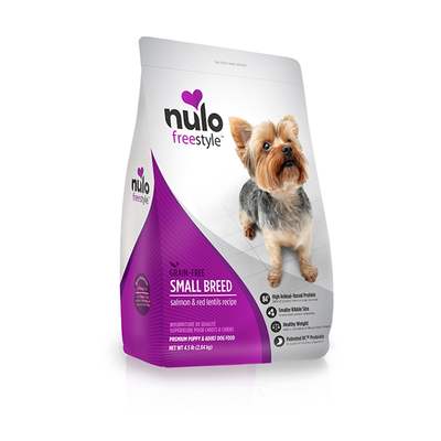 NULO™ Freestyle™ Grain-Free Small Breed Salmon & Red Lentils Recipe for Dogs