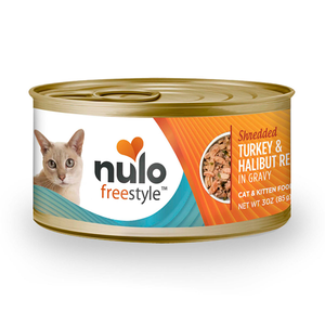 NULO™ Freestyle™ Grain-Free Shredded Turkey & Halibut Recipe for Cats