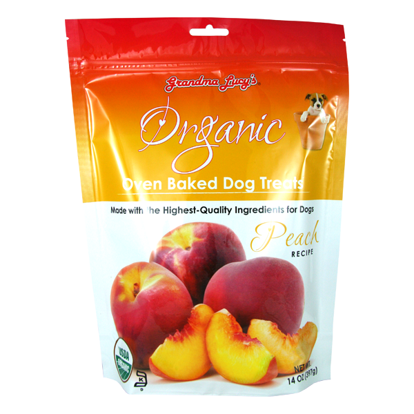 GRANDMA LUCY'S® Organic Oven Baked Treats – Peach