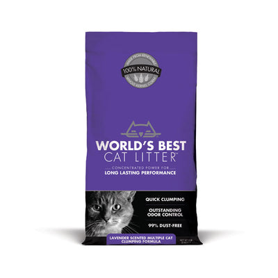 WORLD'S BEST CAT LITTER™ Lavender Scented Multiple Cat Clumping Formula