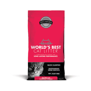 WORLD'S BEST CAT LITTER™ Multiple Cat Clumping Formula Litter