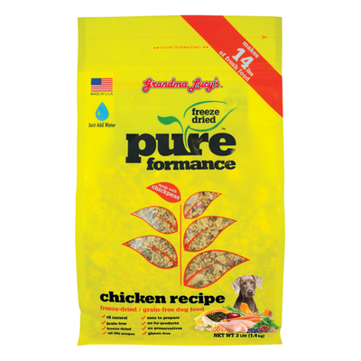 GRANDMA LUCY'S® Pureformance™ Chicken Recipe for Dogs