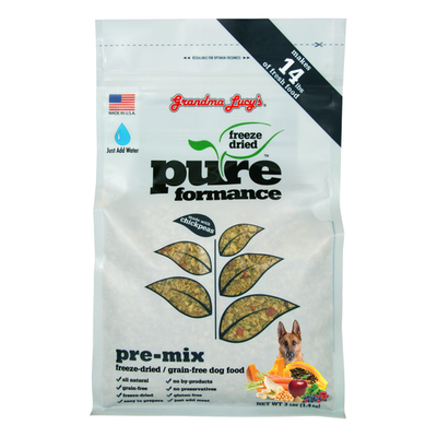 GRANDMA LUCY'S® Pureformance™ Pre-Mix Recipe for Dogs