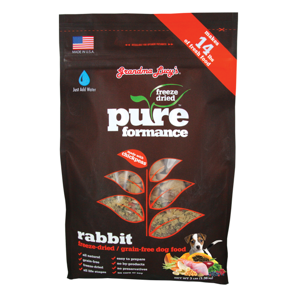 GRANDMA LUCY'S® Pureformance™ Rabbit Recipe for Dogs