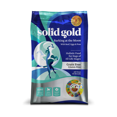 SOLID GOLD® Barking at the Moon® With Beef, Eggs & Peas Recipe for Dogs