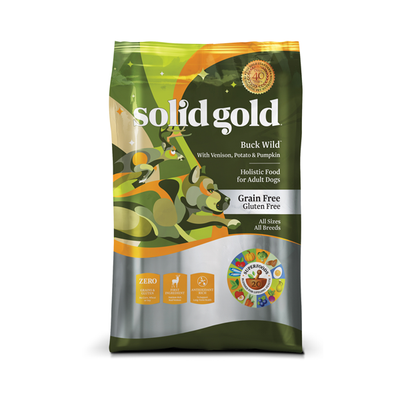 SOLID GOLD® Buck Wild™ With Venison, Potato & Pumpkin Recipe for Dogs
