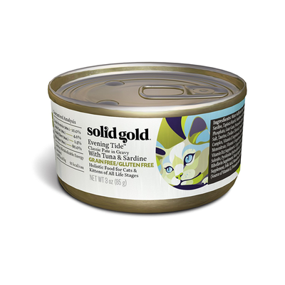 SOLID GOLD® Evening Tide™ Classic Pate in Gravy with Tuna & Sardine for Cats