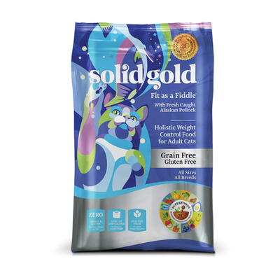 SOLID GOLD® Fit as a Fiddle™ With Fresh Caught Alaskan Pollock Recipe for Cats