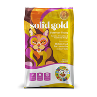 SOLID GOLD® Furrever Young™ With Turkey, Potato & Cranberry Recipe for Senior Cats