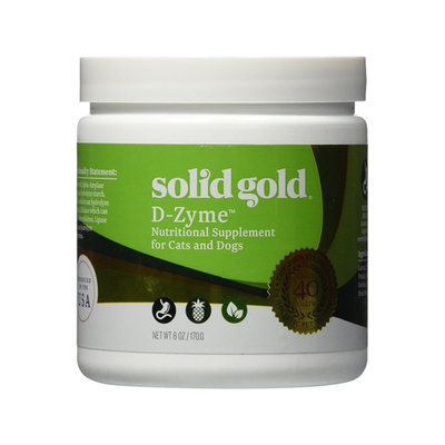 SOLID GOLD® D-Zyme™ Digestive Supplement for Dogs & Cats