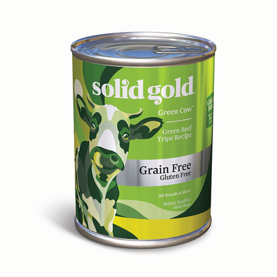 SOLID GOLD® Green Cow® Green Beef Tripe Recipe for Dogs