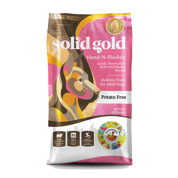 SOLID GOLD® Hund-N-Flocken® With Lamb, Brown Rice & Pearled Barley Recipe for Dogs
