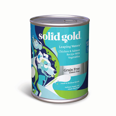 SOLID GOLD® Leaping Waters™ Chicken & Salmon Recipe with Vegetables for Dogs