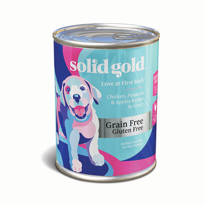 SOLID GOLD® Love At First Bark™ Chicken, Potatoes & Apples Recipe in Gravy for Dogs