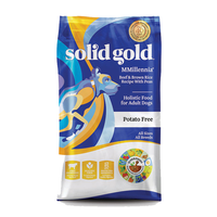 SOLID GOLD® Mmillennia® Beef & Brown Rice Recipe with Peas for Dogs