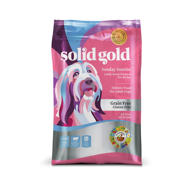 SOLID GOLD® Sunday Sunrise™ with Lamb, Sweet Potato & Pea Recipe for Dogs