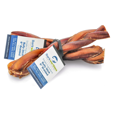 BARKWORTHIES® Bully Stick Braided
