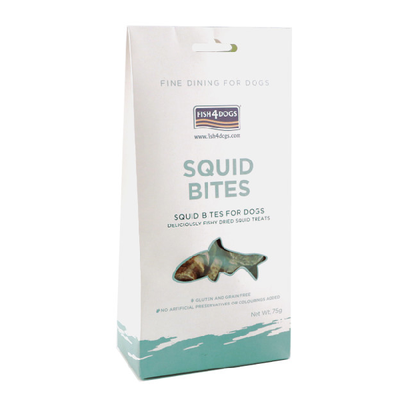 FISH 4 DOGS® Squid Bites for Dogs