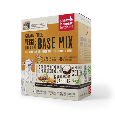 THE HONEST KITCHEN® Grain Free Veggie, Nut & Seed Base Mix for Dogs