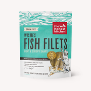 THE HONEST KITCHEN® Grain Free Wishes Fish Filets Natural Treats for Dogs & Cats