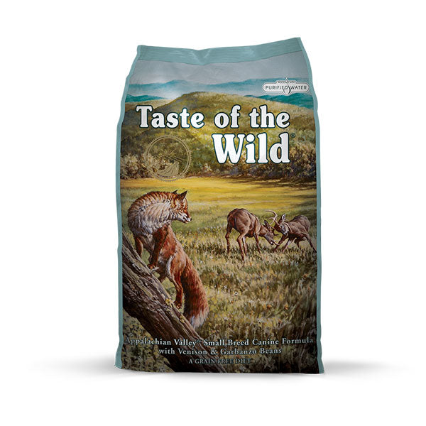 TASTE OF THE WILD® Appalachian Valley™ Small Breed Canine Formula with Venison & Garbanzo Beans