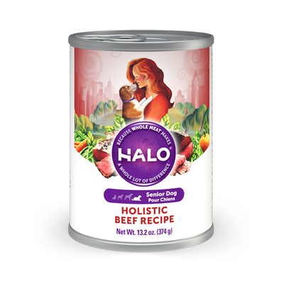 HALO® Holistic Beef  Recipe for Senior Dogs