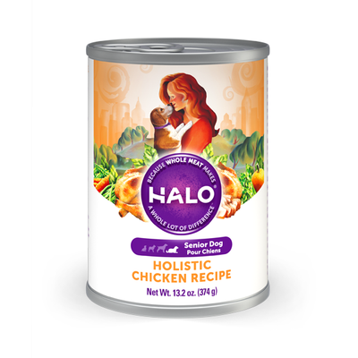 HALO® Holistic Chicken Recipe for Senior Dogs