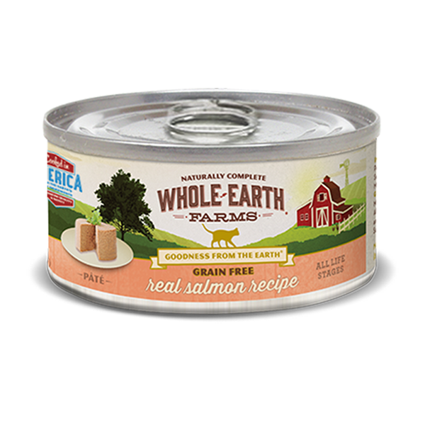WHOLE EARTH FARMS™ Grain Free Real Salmon Recipe Pate for Cats