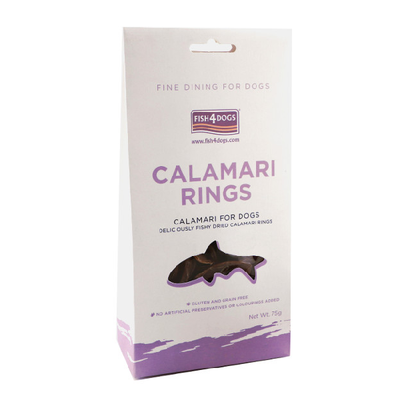 FISH 4 DOGS® Calamari Rings for Dogs