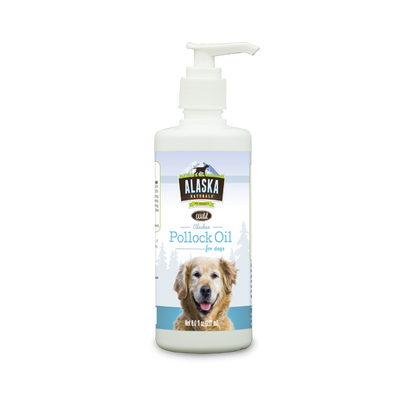 ALASKA NATURALS® Wild Alaskan Pollock Oil for Dogs