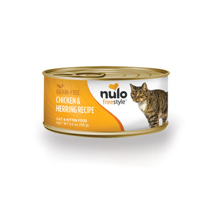 NULO™ Freestyle™ Grain-Free Chicken & Herring Recipe for Cats