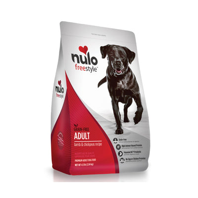 NULO™ Freestyle™ Grain-Free Adult Lamb & Chickpeas Recipe for Dogs
