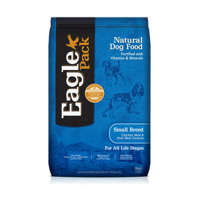 EAGLE PACK® Small Breed Chicken Meal & Pork Meal Formula for Dogs