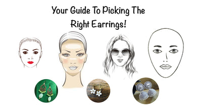 The Art of Picking The Right Earrings For Your Face Type!