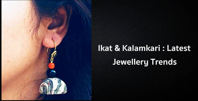 Ikat & Kalamkari Art Now In The Jewellery You Wear
