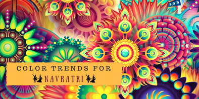 The Color Trends for Navratri 2017