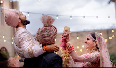 Anushka Sharma - The Most Inspiring Bride Of the Year!