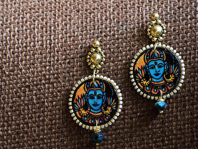 Handcrafted Mural Earrings 3
