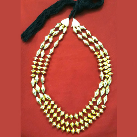 3 Layer Dholki Necklace
