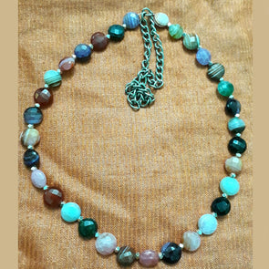 Multi Colour Onyx Necklace