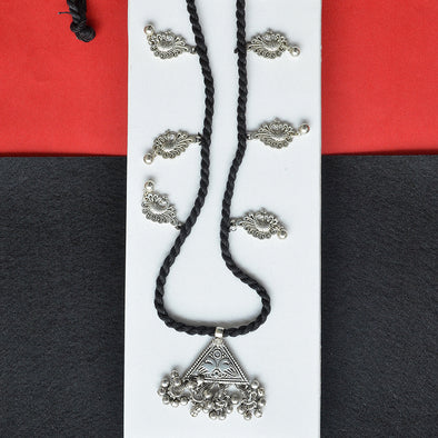 Long Trendy Peacock Necklace