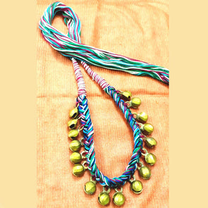 Multi Colour Ghungur Necklace