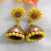 Sunflower Jhumki