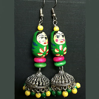 Doll Jhumka Earrings
