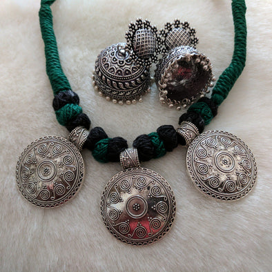German Silver Necklace Set 7